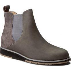 Botki damskie lity: Sztyblety EMU AUSTRALIA - Taria Leather W11501 Charcoal/Anthracite