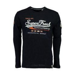 T-shirty chłopięce z długim rękawem: Koszulka w kolorze granatowym