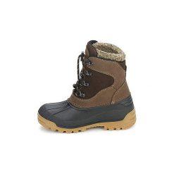 Śniegowce Dziecko Meindl  SÖLDEN JUNIOR. Czerwone buty zimowe chłopięce marki Elefanten, z materiału. Za 293,30 zł.