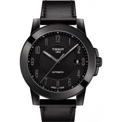 PROMOCJA ZEGAREK TISSOT T-Sport T098.407.36.052.00. Czarne zegarki męskie marki TISSOT, ze stali. W wyprzedaży za 1540,00 zł.
