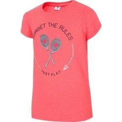 Bluzki dziewczęce: Koszulka dla dużych dziewcząt JTSD210 – czerwony neon