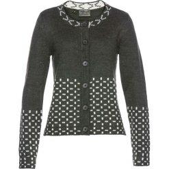 Sweter rozpinany bonprix ciemnoszary. Szare kardigany damskie marki Mohito, l. Za 59,99 zł.