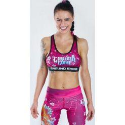 Biustonosze sportowe: Ground Game Sportswear Stanik Koi różowy r. M (TOPM)