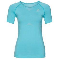Bluzki sportowe damskie: Odlo Koszulka tech. Odlo Shirt s/s crew neck EVOLUTION LIGHT – 184001 – 184001/20325/S