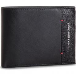 Duży Portfel Męski TOMMY HILFIGER - Th Business Cc Flap And Coin AM0AM04202 002. Czarne portfele męskie TOMMY HILFIGER, ze skóry. Za 349,00 zł.