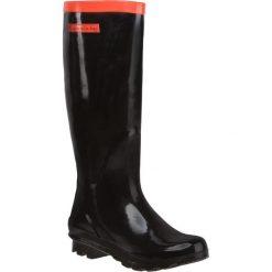 Kalosze GIOSEPPO - Wald 20587 Black. Czarne buty zimowe damskie Gioseppo, z gumy. W wyprzedaży za 109,00 zł.