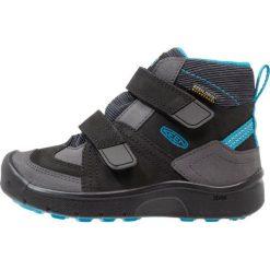 Buty sportowe chłopięce: Keen HIKEPORT MID STRAP WP Buty trekkingowe black/blue jewel