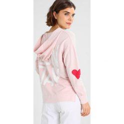 Bluzy rozpinane damskie: Sundry SUNDAY Bluza z kapturem blush