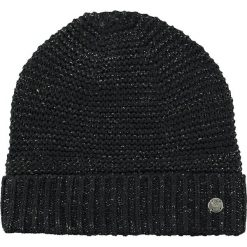 Barts - Czapka Candice Beanie black. Czarne czapki zimowe damskie Barts, na zimę, z dzianiny. W wyprzedaży za 69,90 zł.