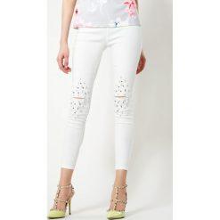Spodnie damskie: Białe Spodnie Do You Know?