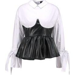 Lost Ink BUSTIER TOP Bluzka mono. Czarne bluzki damskie marki Lost Ink, z bawełny. W wyprzedaży za 125,30 zł.