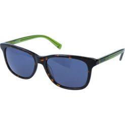 """Okulary przeciwsłoneczne damskie aviatory: Okulary przeciwsłoneczne """"JC671S 52V"""" w kolorze brązowo-zielonym"""