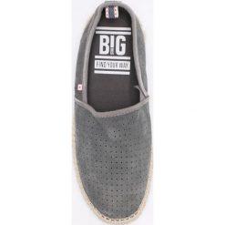 Big Star - Espadryle. Niebieskie espadryle męskie marki Marc O'Polo, ze skóry, na płaskiej podeszwie. W wyprzedaży za 129,90 zł.