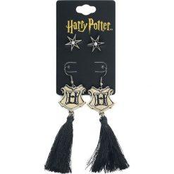 Harry Potter Hogwarts Tassel Earrings Kolczyki złoty. Żółte kolczyki damskie Harry Potter, złote. Za 62,90 zł.