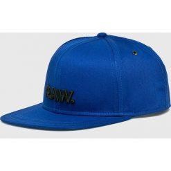 G-Star Raw - Czapka. Szare czapki z daszkiem męskie G-Star RAW. W wyprzedaży za 129,90 zł.