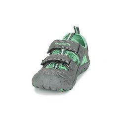 Sandały sportowe Dziecko  Kangaroos  KANGASPEED X5. Czerwone buty sportowe chłopięce marki Born2be, z materiału, z otwartym noskiem, na zamek. Za 119,20 zł.