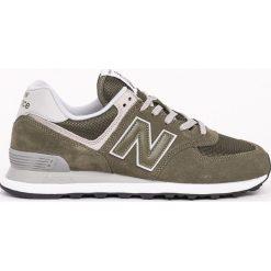 New Balance - Buty ML574EGO. Szare buty skate męskie New Balance, z gumy, na sznurówki. W wyprzedaży za 269,90 zł.