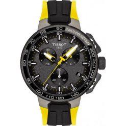 RABAT ZEGAREK TISSOT T-RACE CYCLING TOUR DE FRANCE COLLECTION T111. Czarne zegarki męskie marki TISSOT, ze stali. W wyprzedaży za 1751,20 zł.