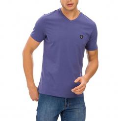 T-shirt w kolorze indygo. Szare t-shirty męskie GALVANNI, m. W wyprzedaży za 84,95 zł.