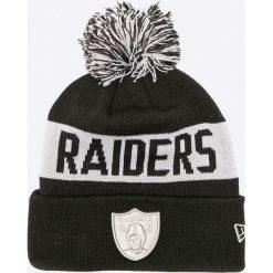 New Era - Czapka. Czarne czapki zimowe męskie New Era, z dzianiny. W wyprzedaży za 99,90 zł.