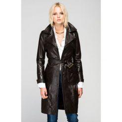 Płaszcze damskie: Płaszcz w kolorze ciemnobrązowym