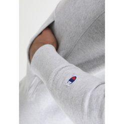 Bejsbolówki męskie: Champion Reverse Weave HOODED Bluza z kapturem light grau meliert