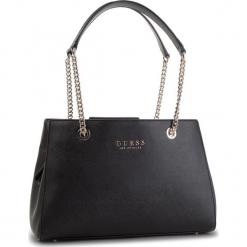 Torebka GUESS - HWEV71 80090 BLACK. Czarne torebki klasyczne damskie Guess, z aplikacjami, ze skóry ekologicznej. Za 589,00 zł.