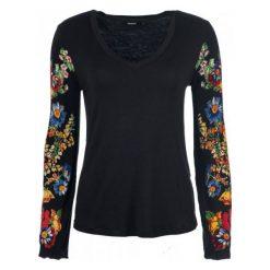 Desigual T-Shirt Damski Claudina S Czarny. Czarne t-shirty damskie marki Desigual, s. Za 249,00 zł.