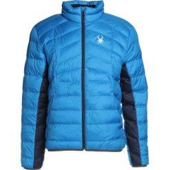 Spyder GEARED FULL ZIP  Kurtka narciarska aqua. Niebieskie kurtki narciarskie męskie Spyder, m, z materiału. W wyprzedaży za 493,35 zł.
