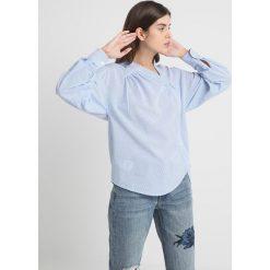 Bluzki asymetryczne: AllSaints JULIE  Bluzka blue/chalk