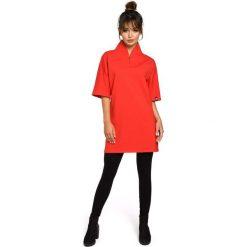 CASPER Tunika kimono - czerwona. Czarne tuniki damskie marki DOMYOS, z bawełny, street. Za 179,90 zł.