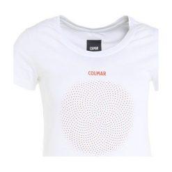 Colmar JERICO Tshirt z nadrukiem white. Białe t-shirty damskie Colmar, xs, z nadrukiem, z bawełny. Za 189,00 zł.