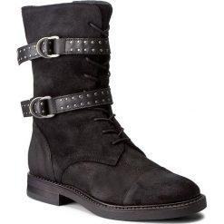 Kozaki LIU JO - Anfibio Courtney S67151 P0079 Nero 22222. Czarne buty zimowe damskie marki Liu Jo, z materiału, przed kolano, na wysokim obcasie, na obcasie. W wyprzedaży za 559,00 zł.