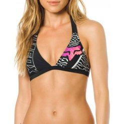 Bikini: FOX Góra Od Bikini Refraction Fixed Halter Xs Czarny