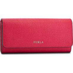 Duży Portfel Damski FURLA - Babylon 875408 P PS12 B30 Ruby. Czerwone portfele damskie Furla, ze skóry. Za 715,00 zł.
