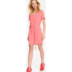 SUKIENKA DAMSKA. Różowe sukienki balowe Top Secret, na co dzień, z krótkim rękawem, mini. Za 54,99 zł.