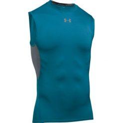 Under Armour Koszulka męska HeatGear Armour SL niebieska r. M (1257469-953). Szare koszulki sportowe męskie marki Under Armour, z elastanu, sportowe. Za 84,94 zł.