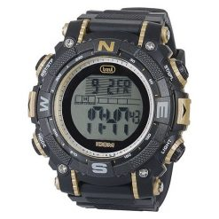 Zegarek Trevi Męski SG340 gold Ecotime. Czarne zegarki męskie Trevi. Za 170,00 zł.