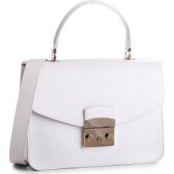 Torebka FURLA - Metropolis 948626 B BLE8 ARE Petalo. Białe torebki klasyczne damskie marki Furla, ze skóry. W wyprzedaży za 1179,00 zł.