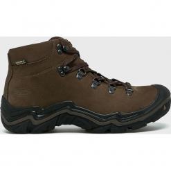 Keen - Buty Feldberg. Brązowe buty trekkingowe męskie Keen, z materiału, na sznurówki, outdoorowe. W wyprzedaży za 579,90 zł.