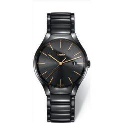 ZEGAREK RADO TRUE R27 238 15 2. Czarne zegarki męskie RADO, ceramiczne. Za 5410,00 zł.