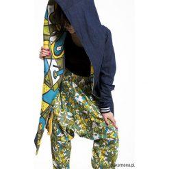 Płaszcze damskie pastelowe: Płaszcz unisex jeans z kapturem – aqualoopa
