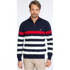 Sir Raymond Tailor Sweter Męski L Wielokolorowy. Szare swetry klasyczne męskie Sir Raymond Tailor, l, w paski. W wyprzedaży za 229,00 zł.