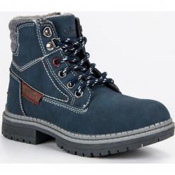 CHŁOPIĘCE TRAPERKI AMERICAN. Niebieskie buty zimowe chłopięce American CLUB. Za 139,00 zł.