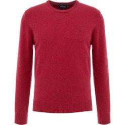 Hackett London Sweter blood orange. Czerwone swetry klasyczne męskie Hackett London, m, z materiału. Za 569,00 zł.