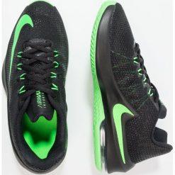 Nike Performance AIR MAX INFURIATE Obuwie do koszykówki black/rage green. Czarne buty sportowe męskie marki Nike Performance, z materiału, na golfa. W wyprzedaży za 223,20 zł.