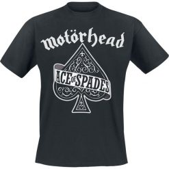 Motörhead Ace of spades T-Shirt czarny. Czarne t-shirty męskie z nadrukiem Motörhead, s, z okrągłym kołnierzem. Za 74,90 zł.