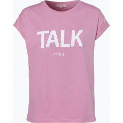 T-shirty damskie: talk about – T-shirt damski, różowy