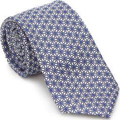 Krawat 87-7K-001-X3. Białe krawaty męskie Wittchen, z bawełny, eleganckie. Za 149,00 zł.