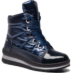 Śniegowce CAPRICE - 9-26212-21 Ocean Comb 880. Niebieskie buty zimowe damskie Caprice, z materiału. Za 299,90 zł.